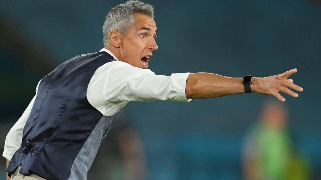 """The rapid reaction of Paulo Sousa after the match against Spain.  """"We can against everyone"""" Polish national team"""