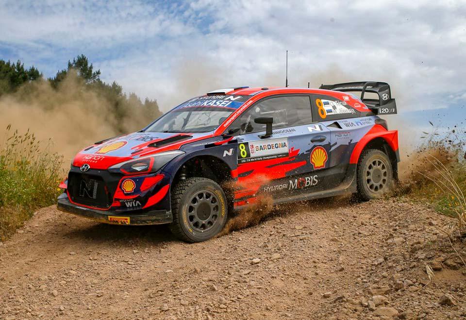 "WRC, Rally Sardinia, PE8: Ott Tanak with the same ""recipe"" as Portugal"