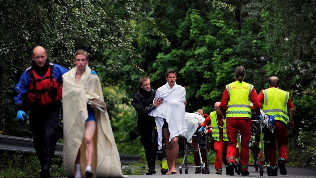 """உட்டோயா.  10 years after Breivik's attempt to """"protect the white race.""""  Norway breeds for victims    News from around the world"""
