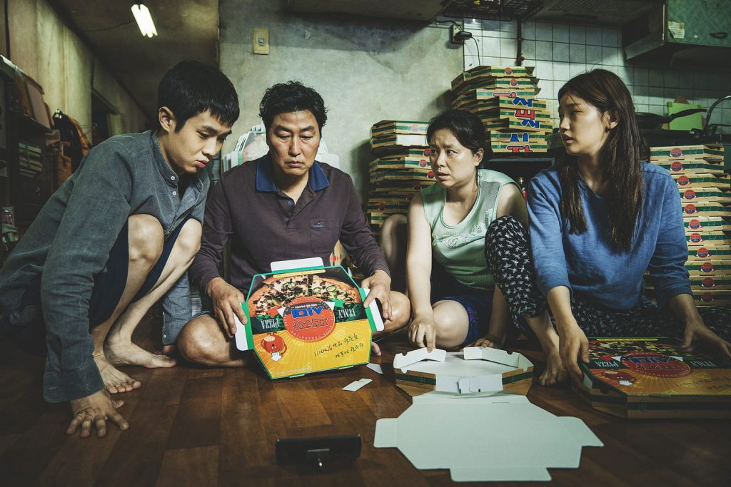 What do we know about the series adapted from Pong Jun-ho's film?