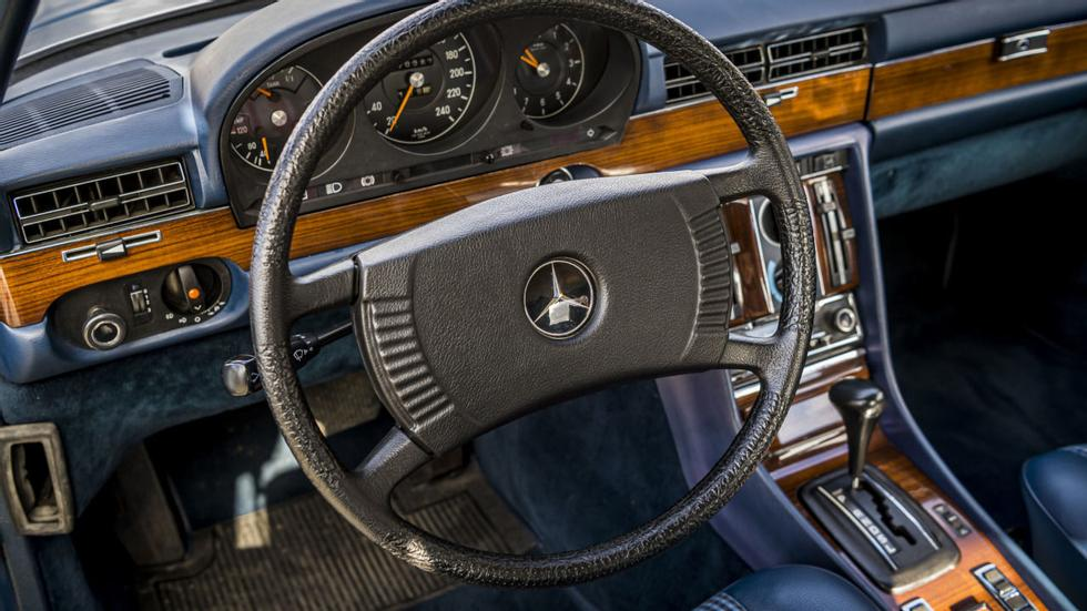 Mercedes-Benz 280 SE could offer the perfect driver's seat in the 1978 version. Photo: Mercedes-Benz AG - Mercedes-Benz