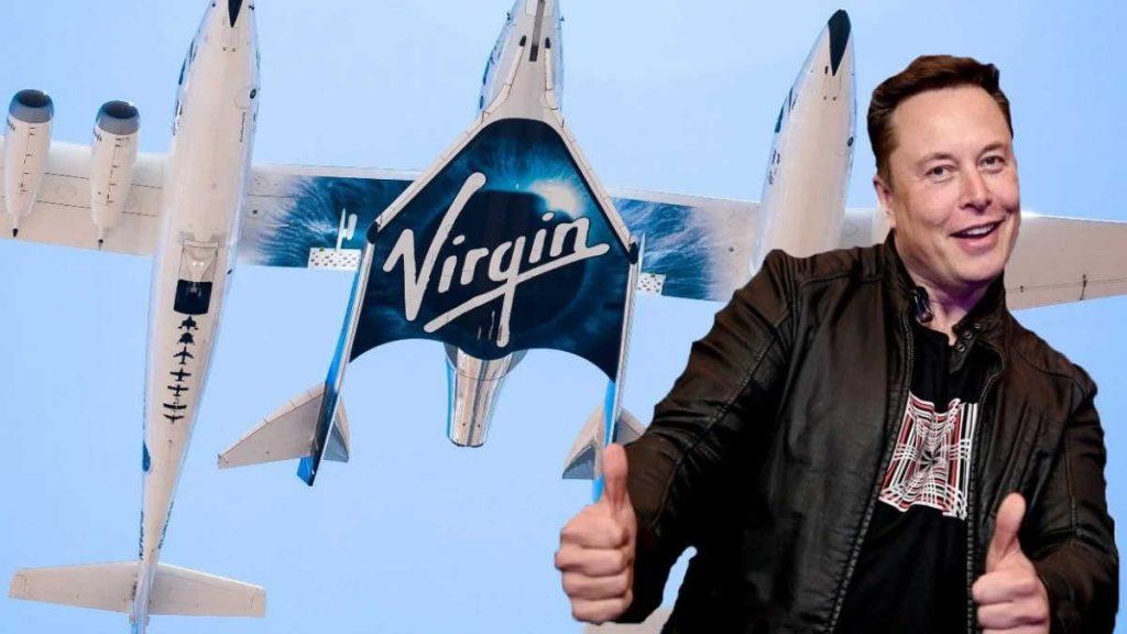 Elon Musk Virgin Galactic Espaço Richard Branson viagem