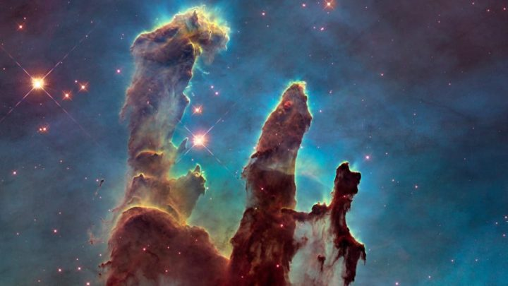 Images captured by NASA's Hubble Telescope