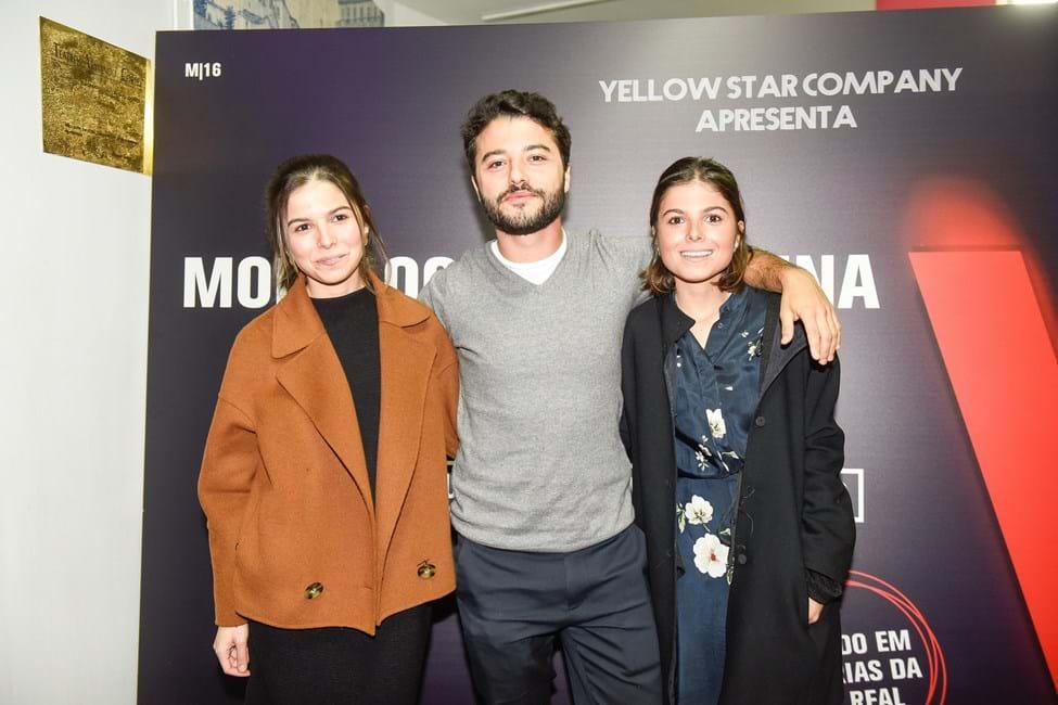 Matilda, Carolina and Rui Maria Bego, children of Julia Pinheiro