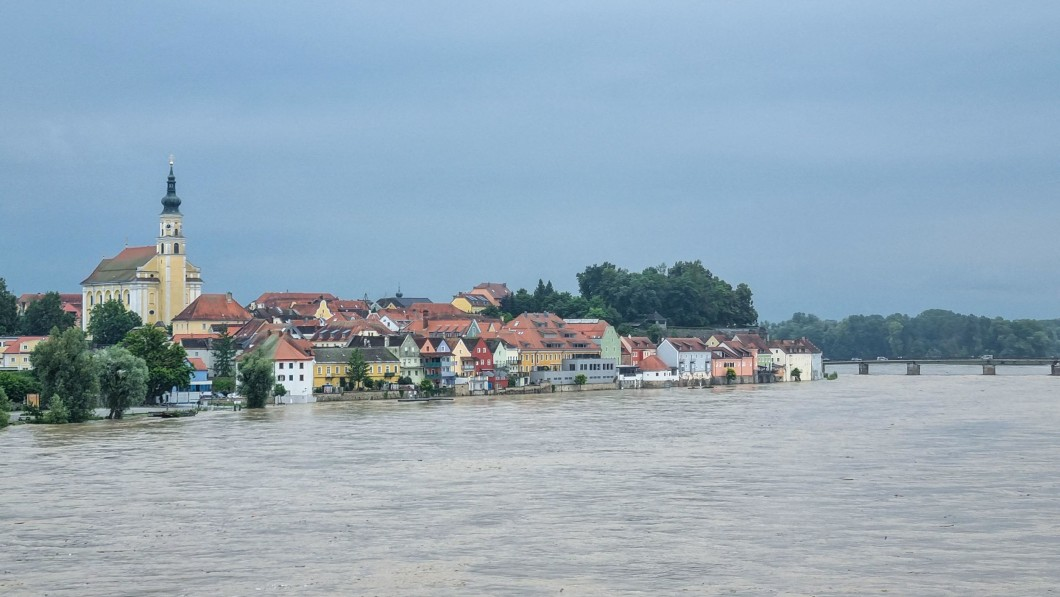 Austria is among the countries now suffering from large amounts of water.