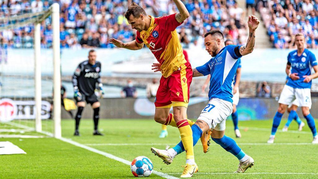 Hansa Rostock loses in second division return to Karlsruhe    NDR.de - Game