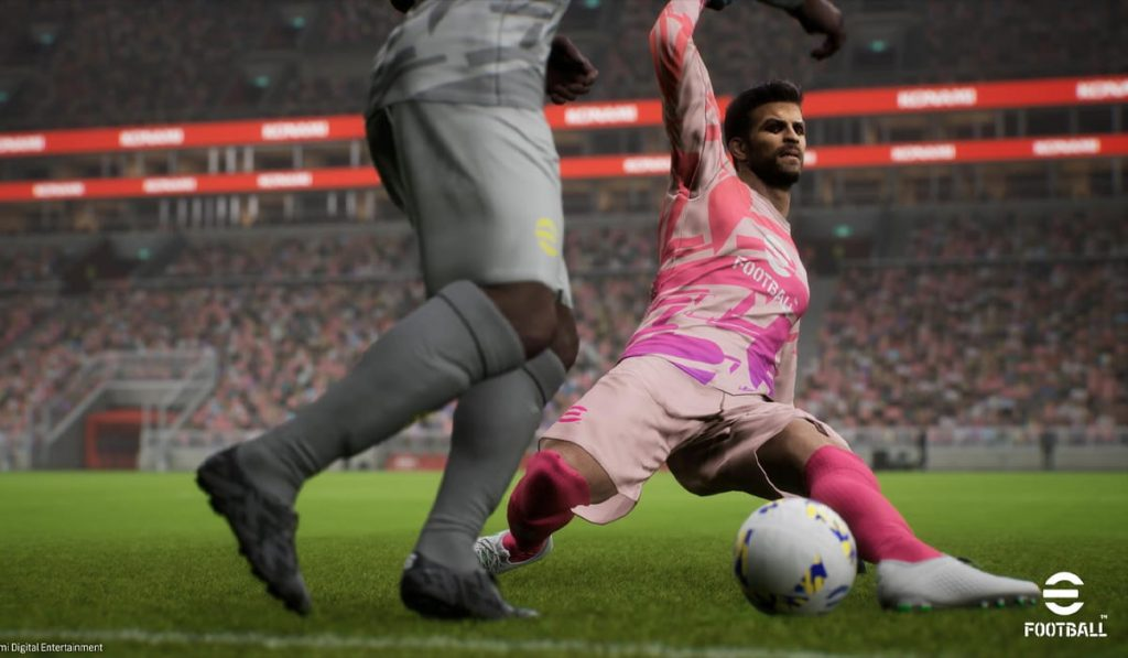 PES happens to be called eFootball and the official promo will give you nightmares!