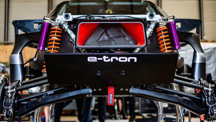 Audi Dakar Rally RS Q E-Tron elétrico