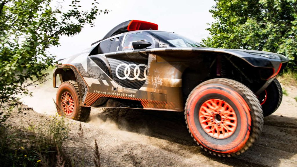 Audi Dakar RS Q E-Tron elétrico Rally