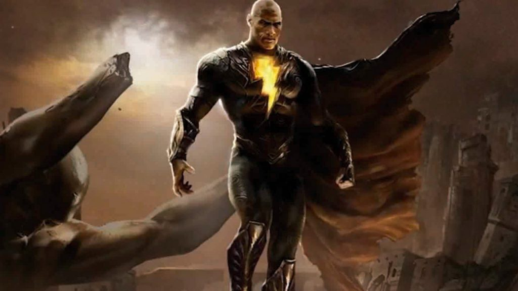 """Black Adam: Discovering Twain Johnson in costume is a """"magical"""" moment for the producer"""