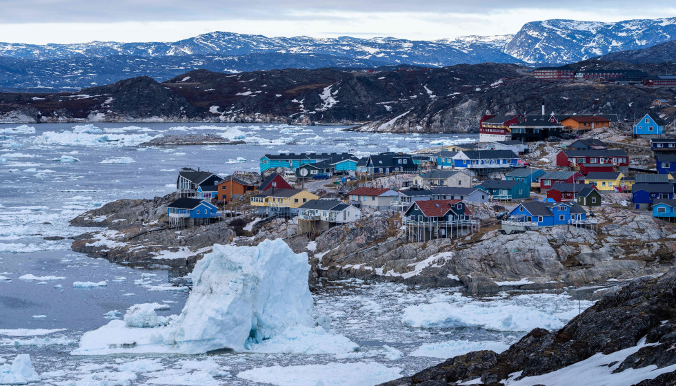 Climate change: More than 100 billion tons of ice has melted in Greenland so far this year.  Photo: Ulrik Pedersen / NurPhoto / Shutterstock / NTB