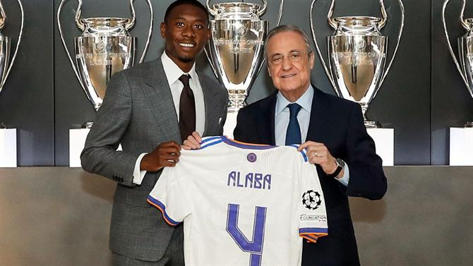 """A BOLA - Alaba inherits 4 Sergio Ramos: """"It was the number they gave me"""" (Real Madrid)"""