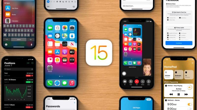 Beta 4 do iOS 15