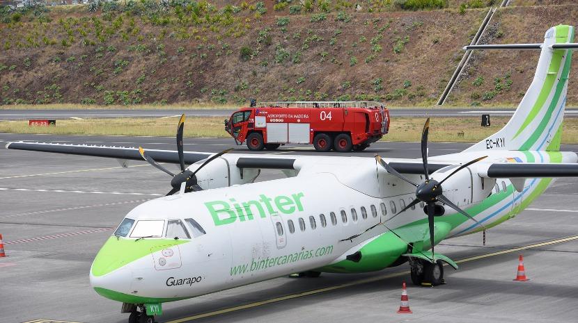 Binter lança promoção para voar entre Madeira e Canárias a partir de 57,31 euros