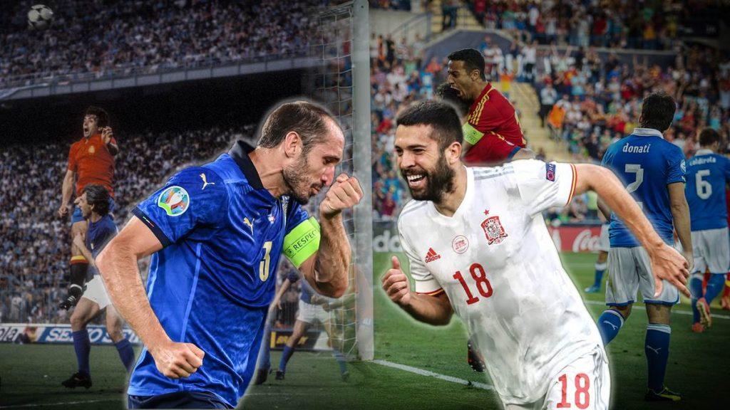 Italien und Spanien lieferten sich in der Vergangenheit packende Duelle.