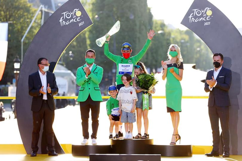 """Mark Cavendish: """"I didn't have to go around a month ago, I'm here now."""""""