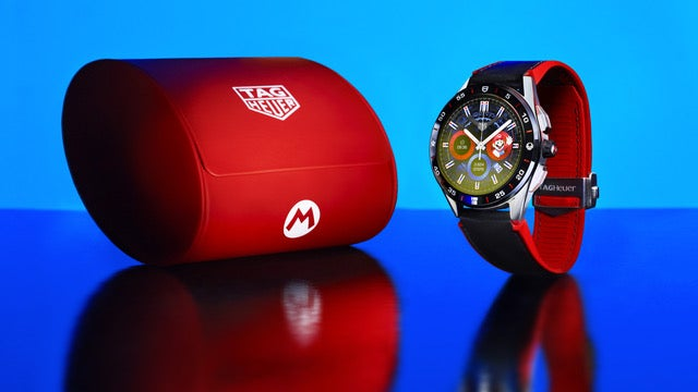 Nintendo and Tag Heuer have created a $2000 Mario smartwatch