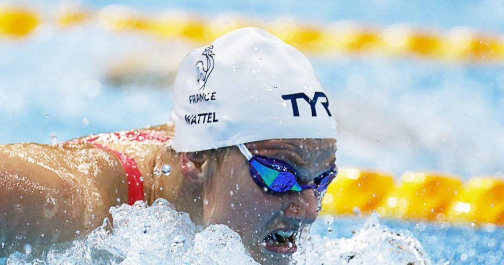 Olympic Games / Swimming.  Can Mary Wattle really win the medal?
