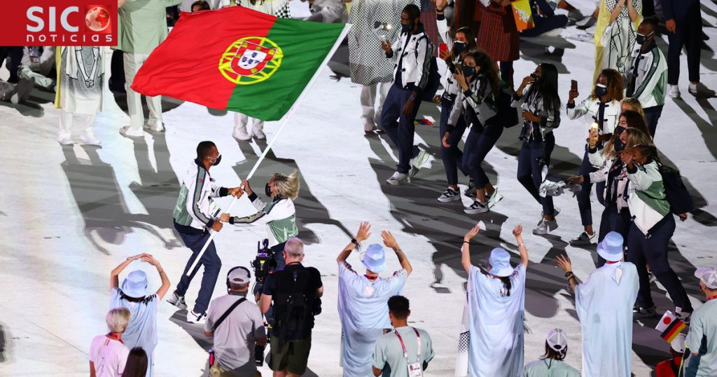 Olympic Games.  Thelma Monteiro and Nelson Evora's dance spreads very quickly