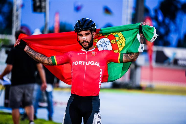 Portugal wins first gold in speed skating history