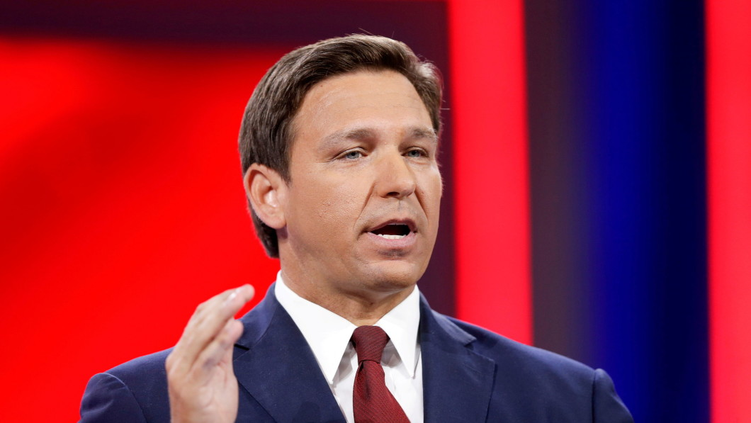 Governor Ron DeSantis is not a supporter of strict infection control rules.