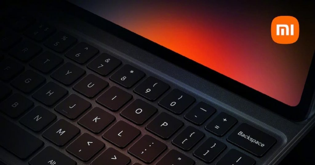 Xiaomi Mi Pad 5 with keyboard: this is the first official image
