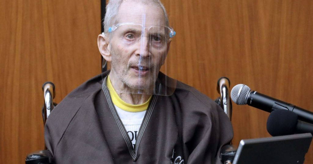 Robert Durst - rejects murder charges