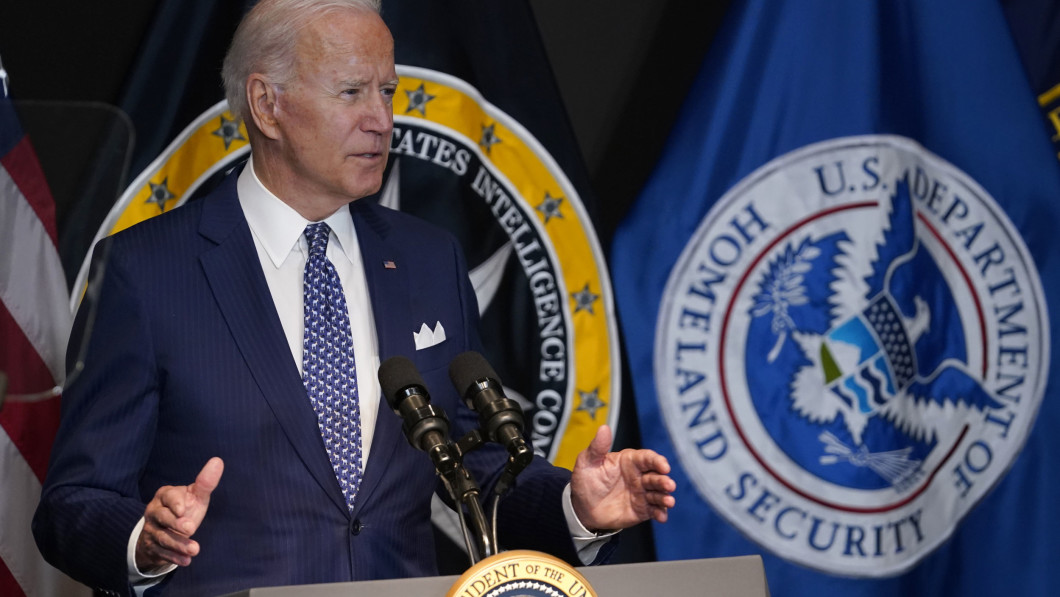 THE PRESIDENT: Joe Biden stands by his position, and he thinks it's right to get the United States out of Afghanistan.