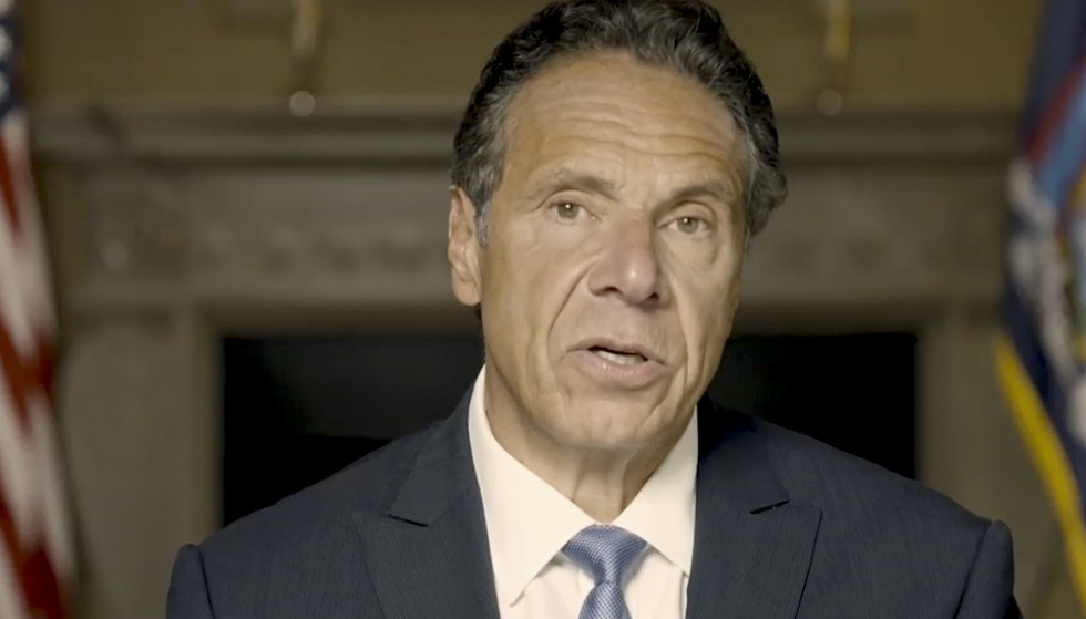 The Storm: There was a storm around Governor Andrew Cuomo after he was known to have sexually harassed former and current employees.  Photo: AP/NTB