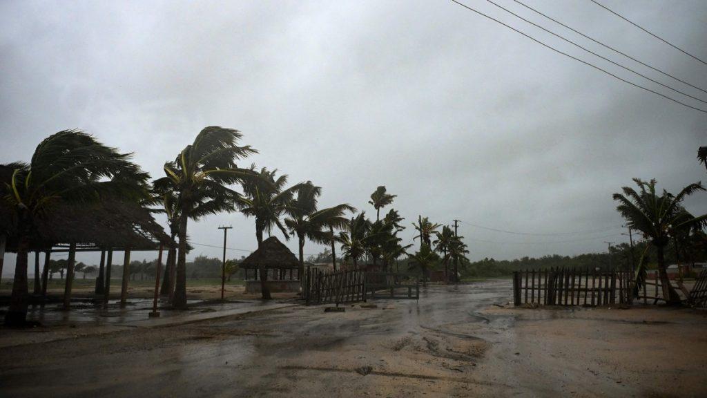 Orkanen Ida på Cuba