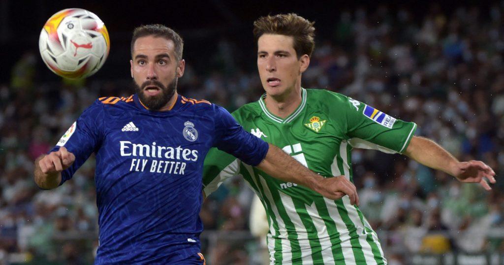 Lalika.  Real Madrid beat Real Betis