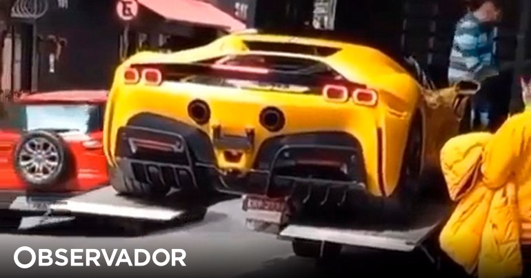 SF90 has crashed!  A Ferrari Doesn't Do It Like This - The Observer