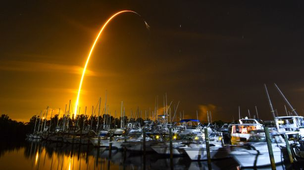 SpaceX launches ants, avocados and robots on a space station