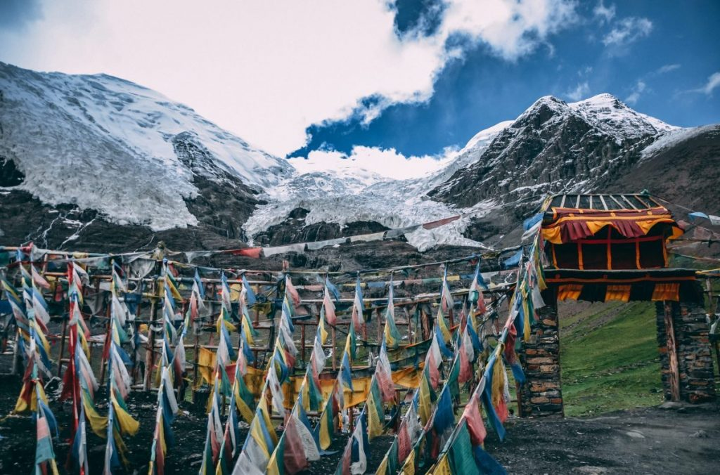 The discovery of ancient viruses unknown to science in the ice of Tibet