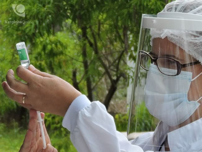 Varginha vaccinates people from the industrial sector from 25 to 27 years old on Monday