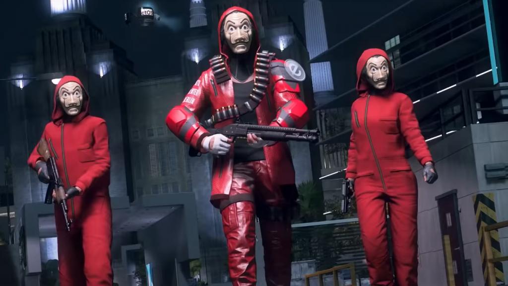 Watch Dogs: Legion wins a mission inspired by La Casa de Papel