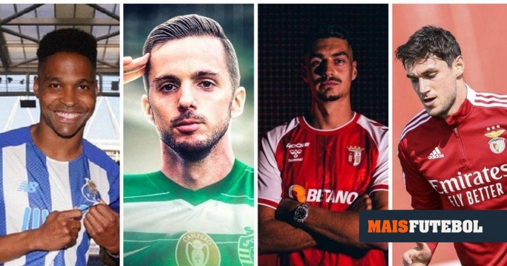 Benfica, Sporting, FC Porto, SB Braga: market balance