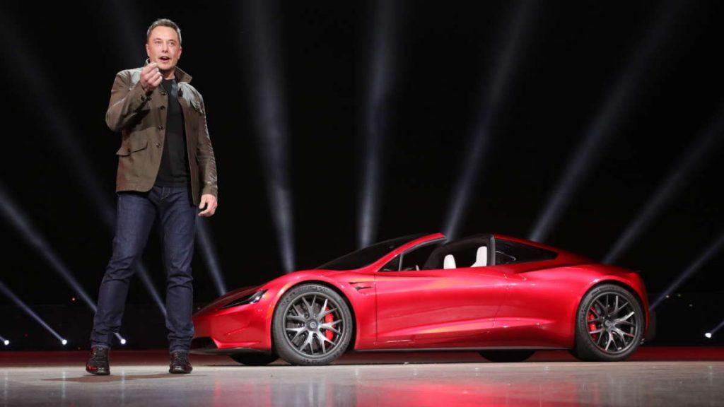 Tesla Roadster Elon Musk atraso carro