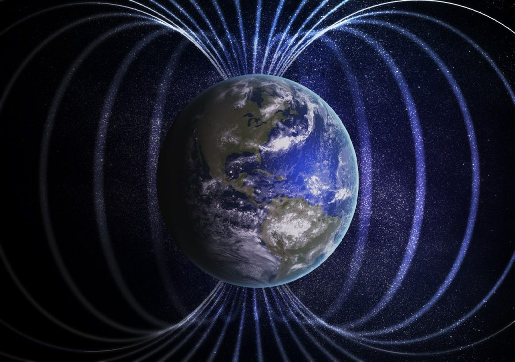 Climate change and the Earth's magnetic field: is there a relationship between them?