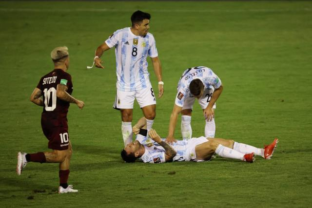 Lionel Messi suffered a major setback with Argentina against Venezuela