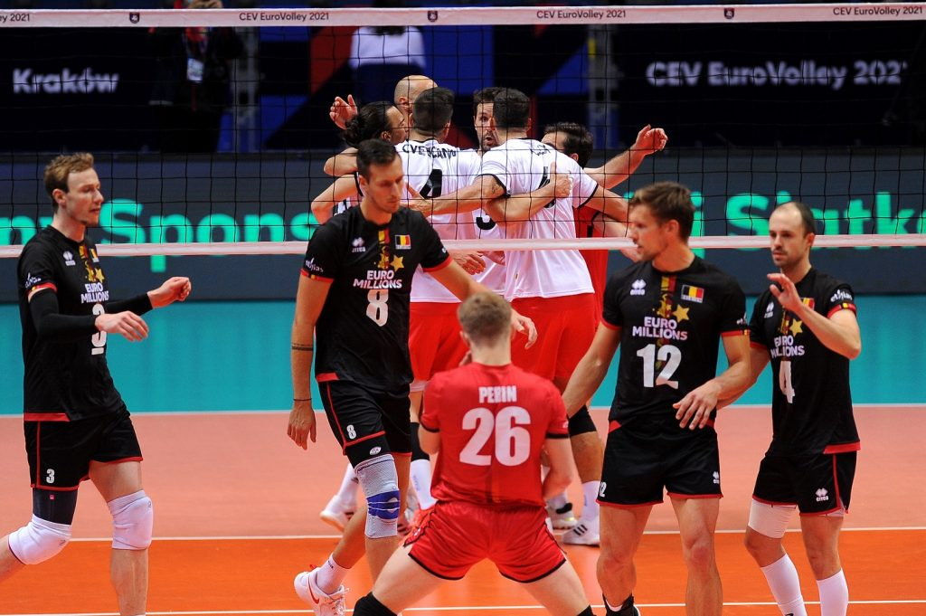 ME Volleyball Players 2021. Three times more sports than the Belgians.  The Greeks were defeated by the Red Dragons