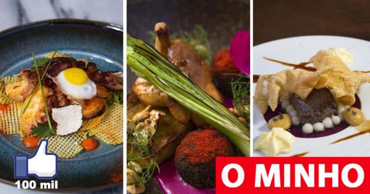 "Restaurants in Guimarães, Caminha and Cervera win the ""7 Wonders of New Gastronomy"""