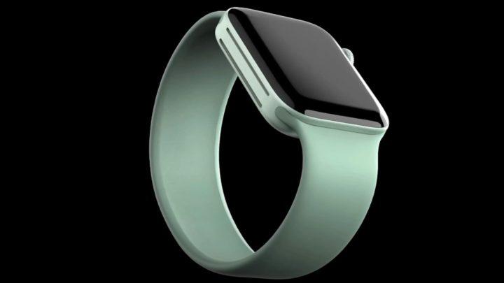 Illustration of Apple Watch Series 7