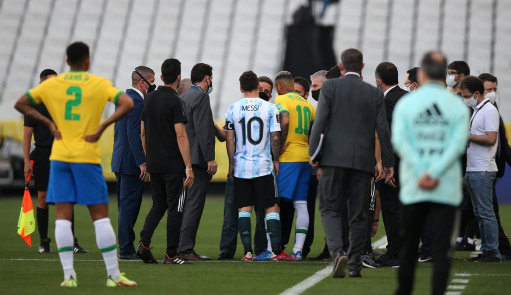 Brazil was canceled against Argentina after the Corona mess