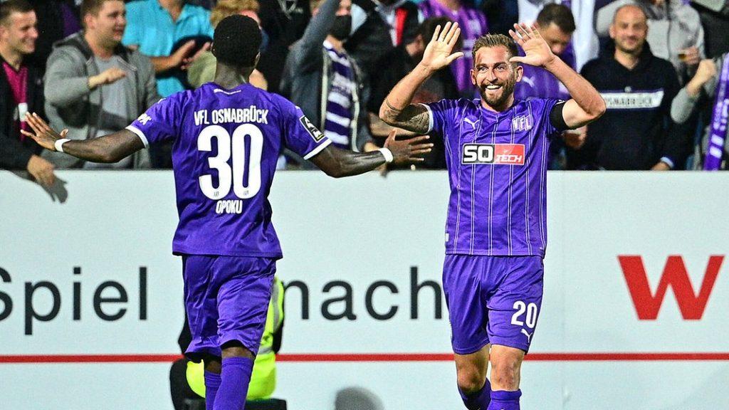 Floodlight failure and three goals: VfL Osnabrück Viktoria Köln |  NDR.de - Game
