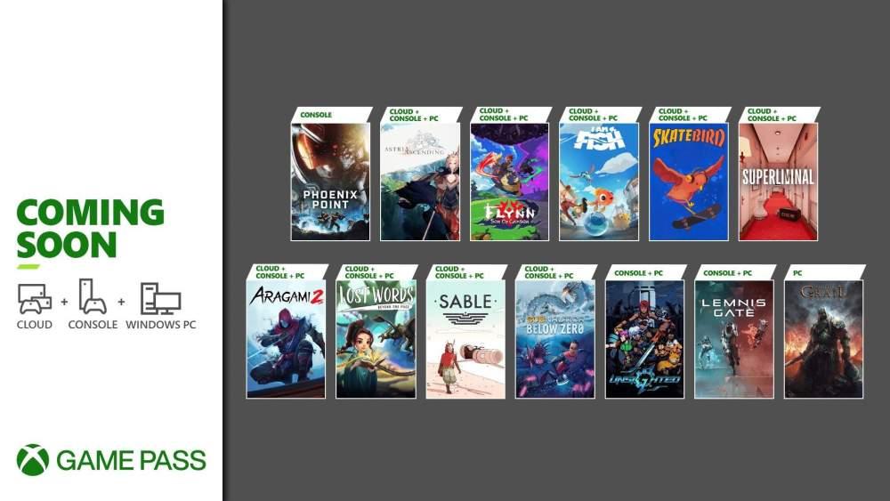 Xbox Game Pass: Aragami 2, SkateBird, Lemnis Gate and the new September games