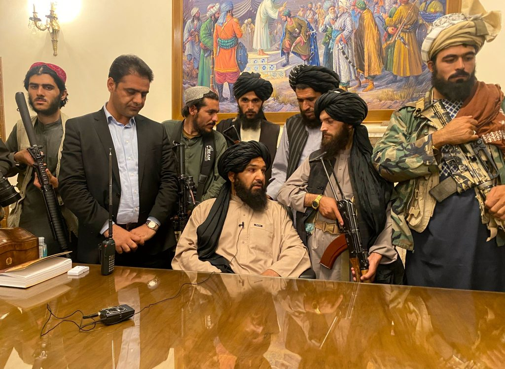 The Taliban seized power in Afghanistan without much resistance.  Internally, fighting erupted over the country's new government.