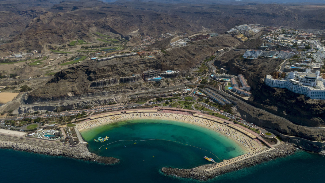 Heat: Although temperatures are low in Norway, many Norwegians plan to travel to Gran Canaria this winter, according to tour operators.