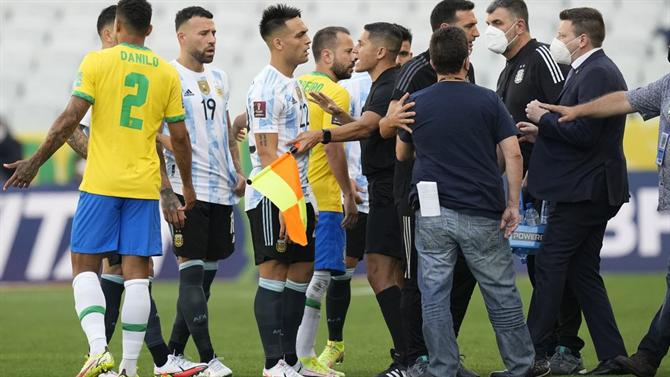 A BOLA - Anvisa manager says it was impossible to find the Argentines before the match (Brazil)