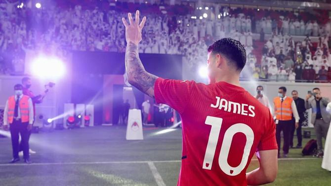 """Ball - James Rodriguez: """"I want to win everything in Al Rayyan"""" (Qatar)"""